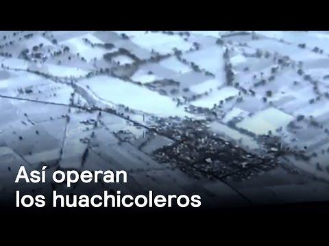 EXCLUSIVA: Drone capta huachicoleros ordeñando a PEMEX - Despierta con Loret