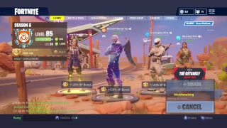 Live[PS4/ESP]Fortnite Playing with the Skin Galaxy I steal the account from IKO!
