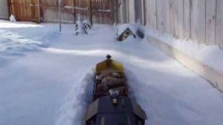 G scale snowplow part 4