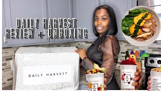 EASY HEALTHY WEIGHT LOSS MEALS | DAILY HARVEST HONEST REVIEW