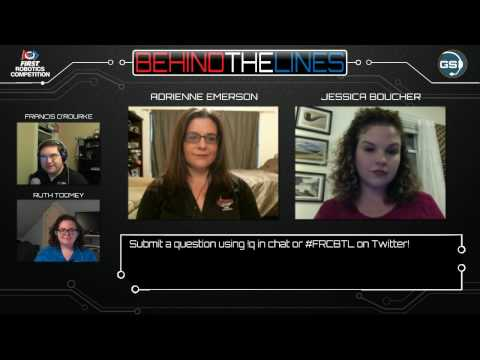 Behind the Lines S03E02 - FRC Volunteering with Jess Boucher former FRC Chief VC