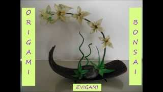 Origami-bonsai