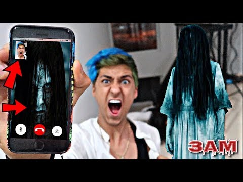 DO NOT FACETIME SAMARA FROM THE RINGS AT 3AM!! *OMG SHE ACTUALLY CAME TO MY HOUSE*