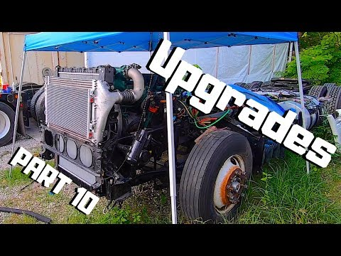 Resurrecting The 2019 Volvo VNL SEMI Truck | REBUILDING With AFTERMARKET Parts | PART 10 |
