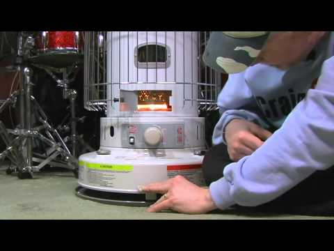 How to use a kerosene heater