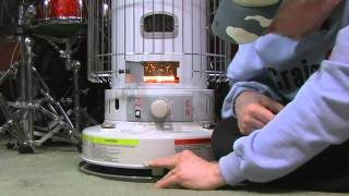 How to use a kerosene heater