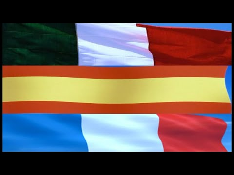 ITALY SPAIN FRANCE WIDESCREEN A1 1