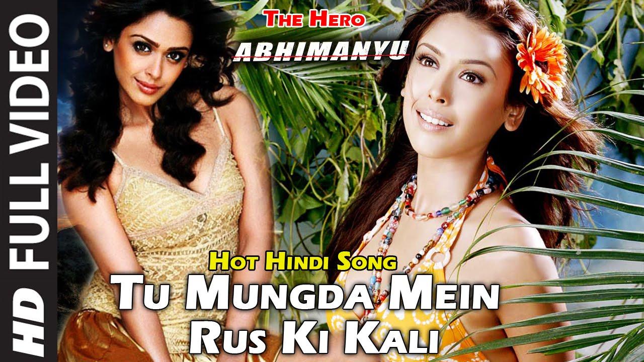 Download Tu Mungda Mein Rus Ki Kali Hindi Hot Song Hrishitaa Bhatt - Hindi Movie The Hero Abhimanyu