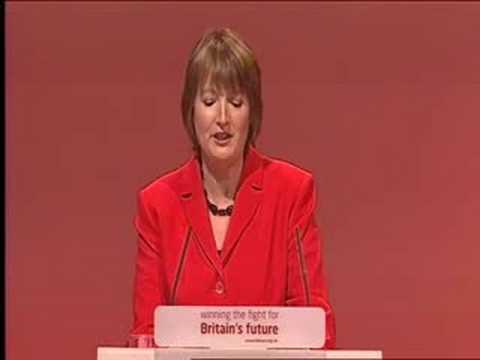 Harriet Harman closes Labour Party Conference