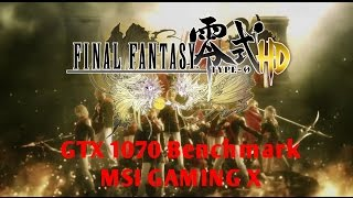 Final Fantasy Type 0 -  Max Settings 1080p - MSI 1070 GAMING X