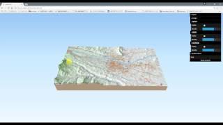 QGISで基盤地図情報データを3Dビュー表示編