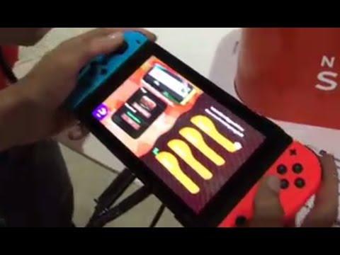 Nintendo Switch 'Splatoon 2' gameplay demo