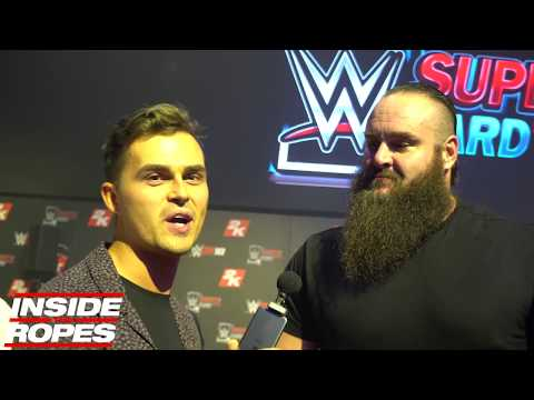 Braun Strowman asked about rumours he was supposed to face The Undertaker at WrestleMania 32