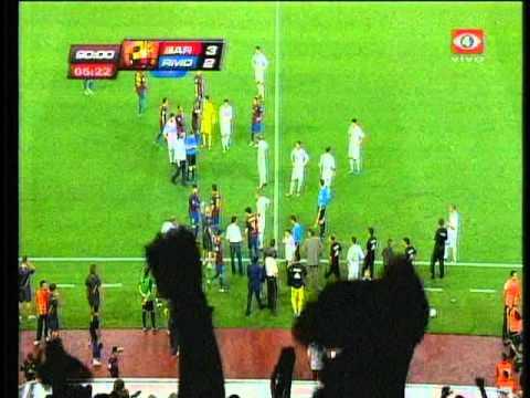 Tercer gol de Messi, Escándalo, Mourinho y Tito Vilanova - Supercopa Española 2011 (vuelta)