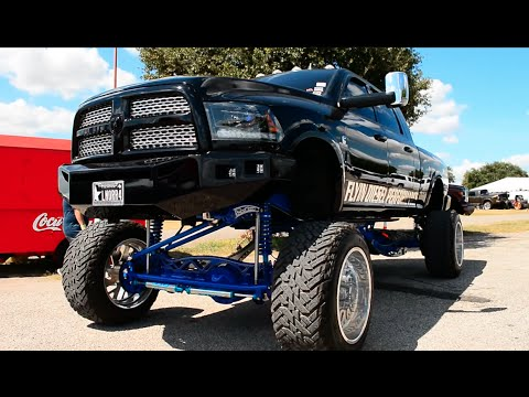 Massive 2015 Ram with 24 inch plan B lift kit & the rest ...