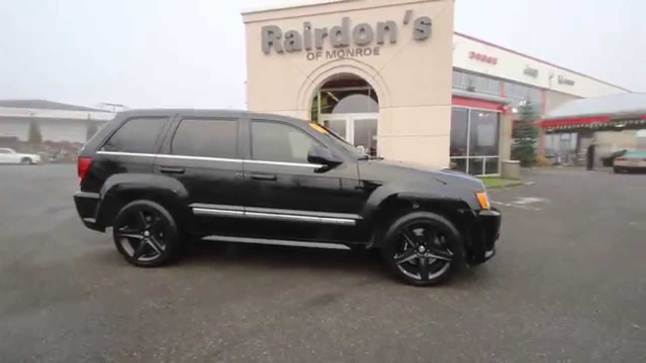 Charming 2007 Jeep Grand Cherokee SRT8 | Black | STK631312 | Everett | Snohomish    YouTube