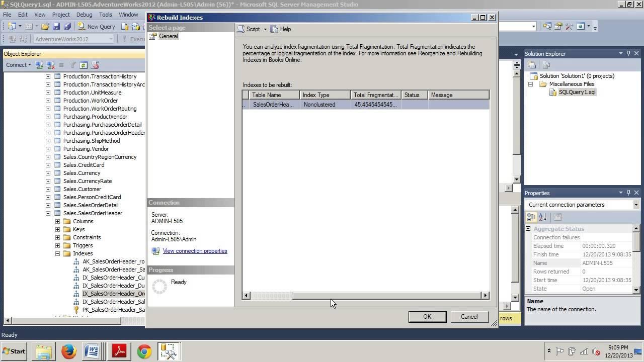 Sql server tutorials.