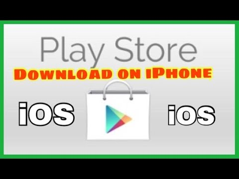 How to Get PlayStore on iPhone free...