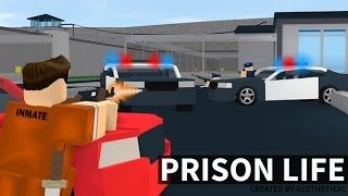 Prison Life v2.0 Roblox Escaping Prison!
