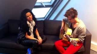 INNA - Live acoustic cover medley: Use Somebody - Grenade - Time of my Life - Born this Way