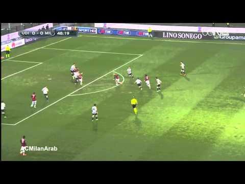 Udinese 1-0 AC Milan 2013/2014   Full Highlights Arabic Comm.
