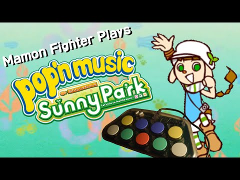 Me playing Pop'n Music Sunny Park with PS1 Pop'n Controller