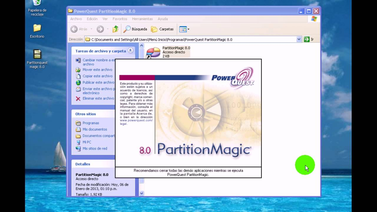 partition magix 8.0