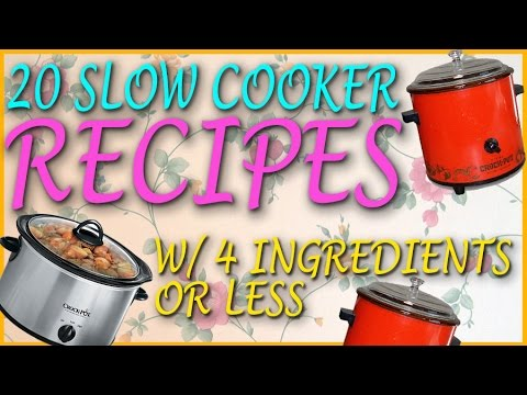 20 Slow Cooker Recipes With 4 Ingredients Or Less