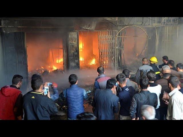 Ирак: взрыв на рынке в восточном Мосуле