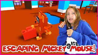 ESCAPING MICKEY MOUSE'S HOUSE!