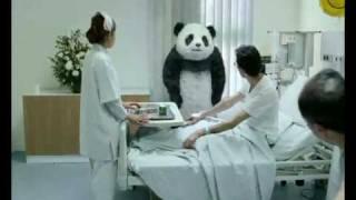 panda in hospital اعلان باندا فى المستشفى