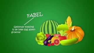 A healthy lifestyle commercial: fabels vs. feiten
