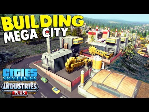 NEW - Building $$$ OIL FIELDS in an Industrial Mega City LIVE | Cities Skylines Industrial DLC