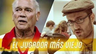 El jugador más viejo de la historia del fútbol