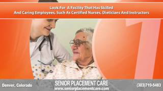 Senior Placement Care Denver Colorado - Independent Living