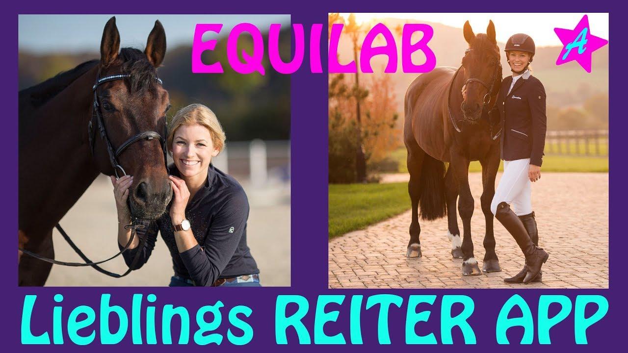 EQUILAB APP für Reiter I Training aufzeichnen Tutorial I Dressurstunde I