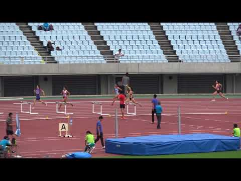 Nat'l Corp Champ2017 Women's400mH heat3 Konomi TAKEISHI59.98 武石この実 宇都宮絵莉 西野愛梨
