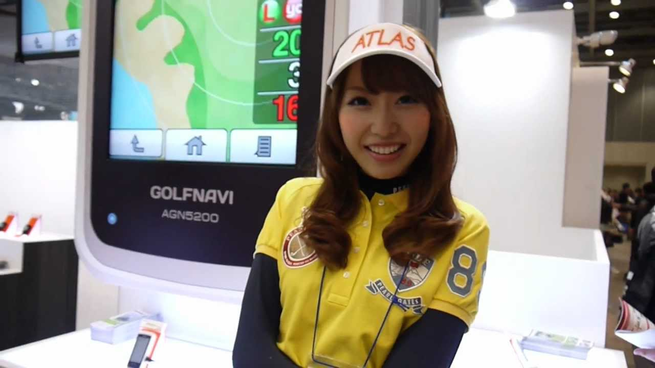 Arisa Nakajima Arisa Nakajima Japan Golf Fair 2012 YouTube