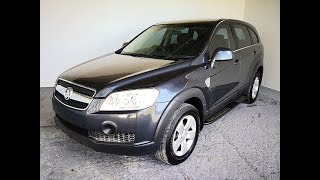 (SOLD) Automatic Cars. 4×4 SUV Holden Captiva 2008 Review