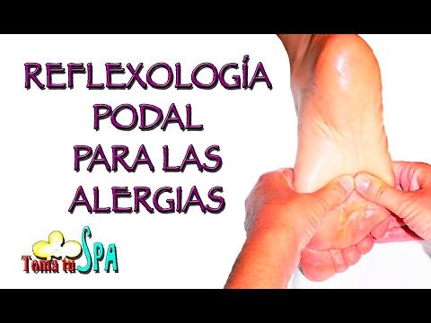 Reflexología Podal Para Las Alergias Youtube