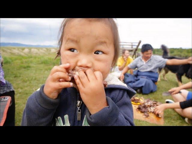 ?? ??? ??? ??  ?? (The best Mongolian delicacies)