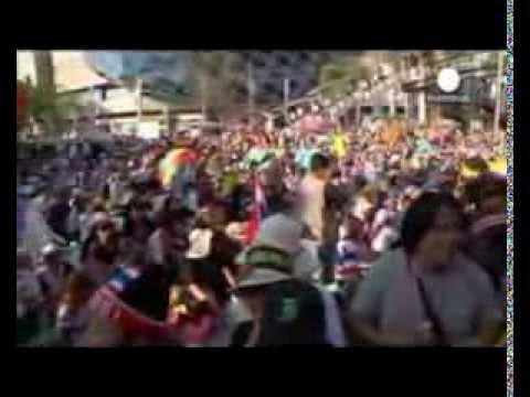 Thailand crisis: Protesters launch Bangkok 'shutdown'
