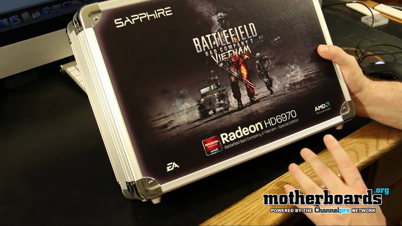 Unboxing: Sapphire AMD HD 6970 - Battlefield Bad Company 2 Vietnam Edition