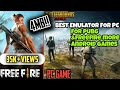 Gambar cover Download FreeFire&Pubg🔘 PC In 1GB ram | Without Graphics Card | Low end Pc | NO LAG|BEST EMULATOR