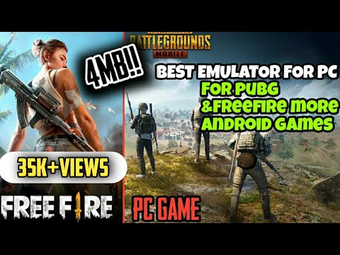 Download FreeFire&Pubg🔘 PC In 1GB ram | Without Graphics Card | Low end Pc | NO LAG|BEST EMULATOR