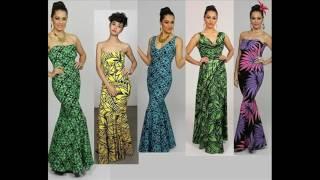 robes polynésiennes