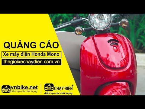 Quảng cáo xe máy điện Honda Mono