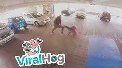 MMA Moves Help Catch Car Thief || ViralHog