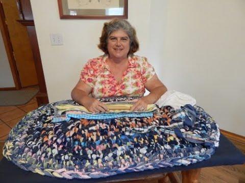 Making A Denim Rag Rug With Color Erin Halvorsen