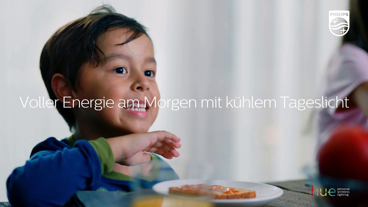 Starten Philips Hue : Philips hue voller energie in den tag starten philips hue app